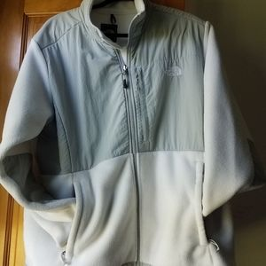 Northface fleece Zip up jacket coat